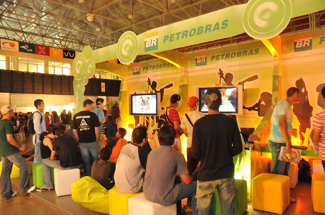 Petrobras | Booth at Calango Festival